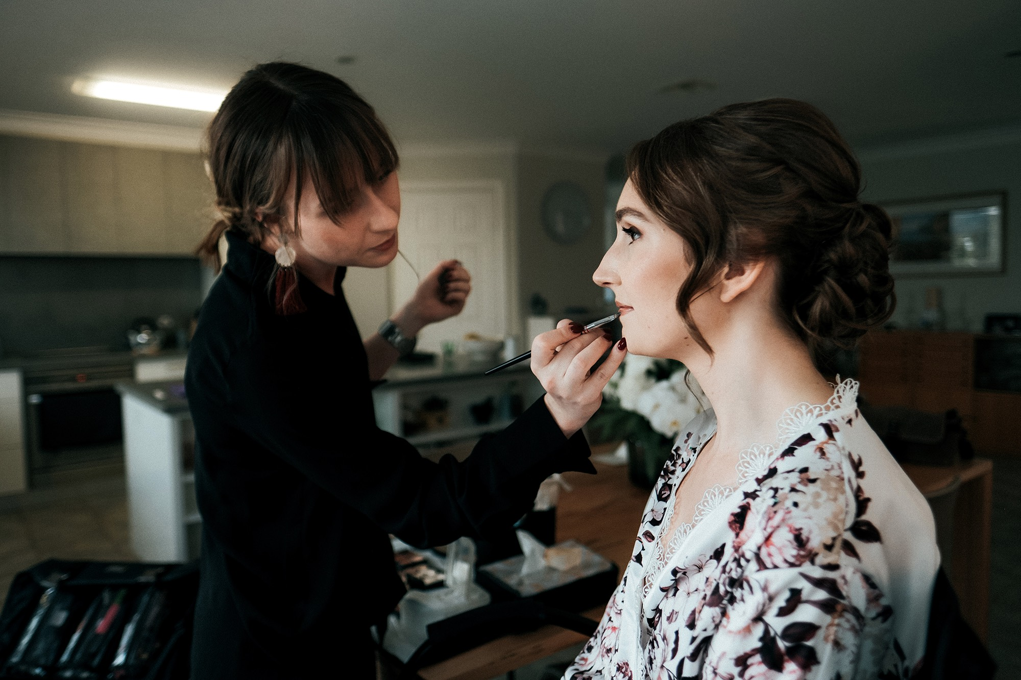 Wedding make up artist Lilah Gow Wedding Makeup Canberra