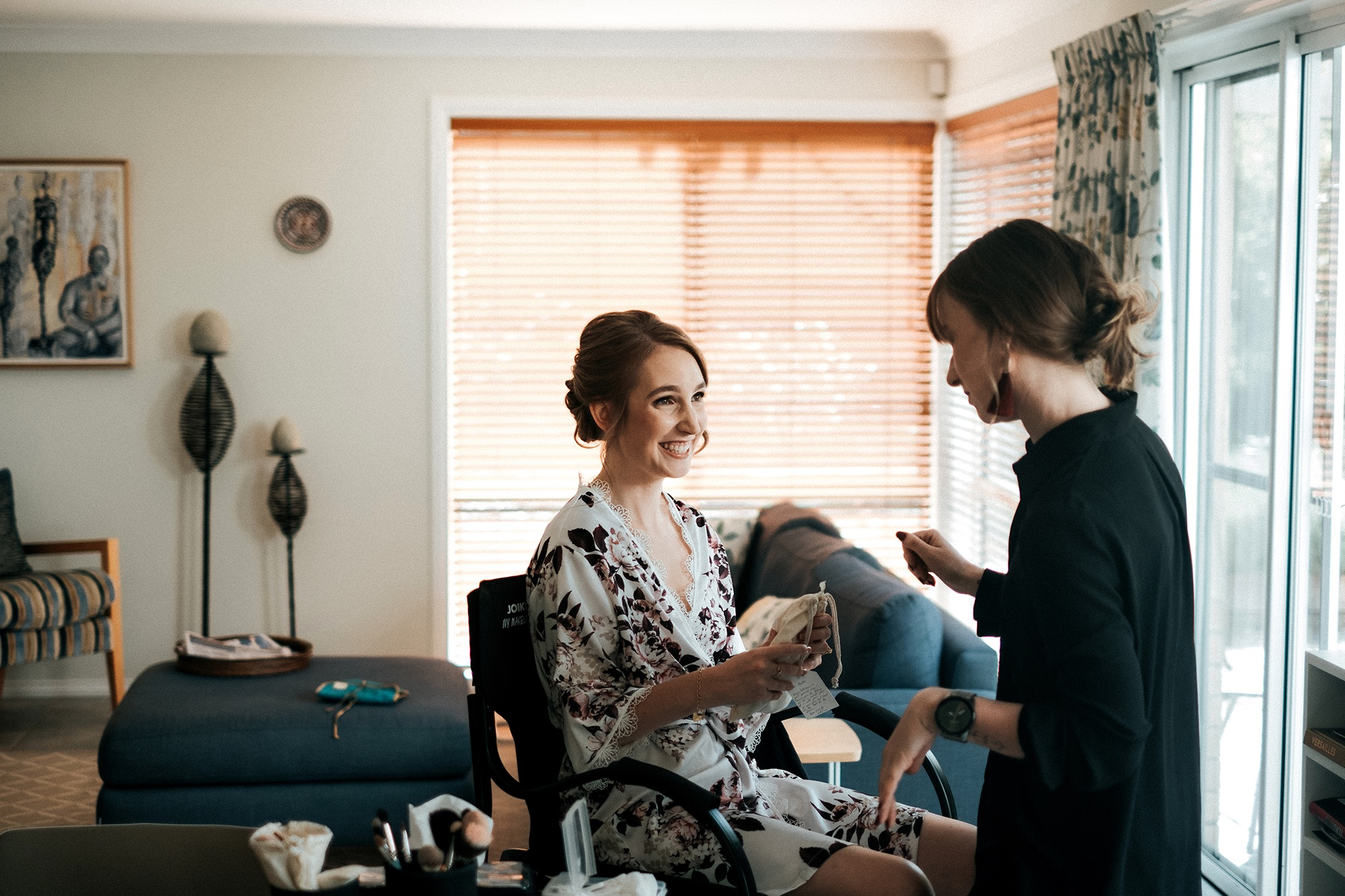 Award winning make up artist Lilah Gow Wedding Makeup Canberra